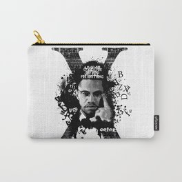 Malcolm X Stand Tall Carry-All Pouch