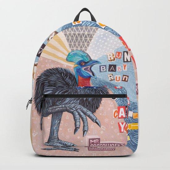 Mrs Cassowary Backpack
