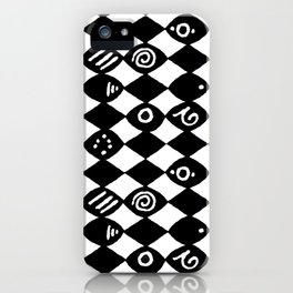 Jazz Harlequin iPhone Case