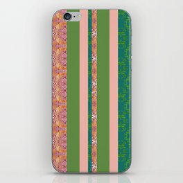 zakiaz bohemian stripe iPhone Skin