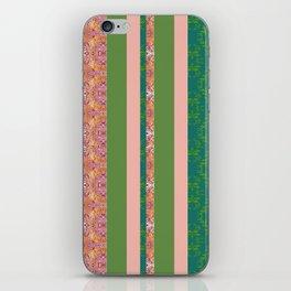 zakiaz bohemian stripe iPhone Skin