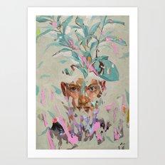 Imaginary girlfriend Art Print
