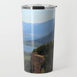 Columbia River Gorge Vista House Travel Mug