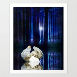 Enchanted Forest 2 Art Print