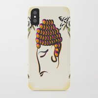 buddha iPhone & iPod Cases featuring Buddha by famenxt