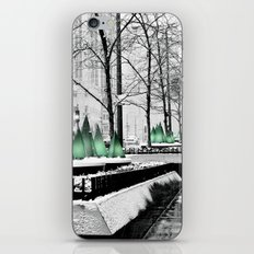 Christmas in Chicago iPhone & iPod Skin