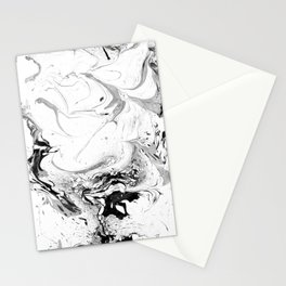 // MARBLED WHITE // Stationery Cards