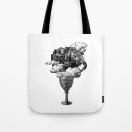 city of cups Tote Bag