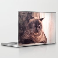 cookie Laptop & iPad Skins featuring Cookie by Rachel's Pet Portraits