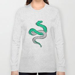 GREEN SNAKE Long Sleeve T-shirt