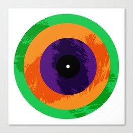 Vinyls Eye II Canvas Print