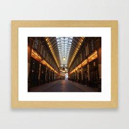 Leandenhall Market Framed Art Print