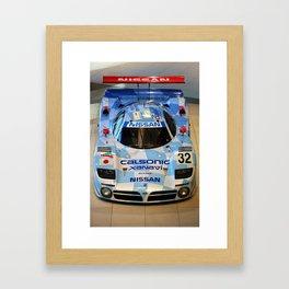 1998 Nissan R390 Framed Art Print