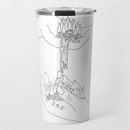 A Helping Hand Travel Mug