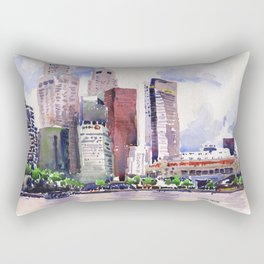 20140318 Cityscape Rectangular Pillow