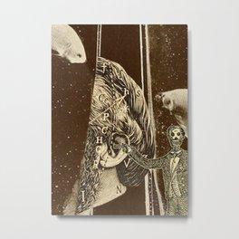 Artist Trading Card Metal Print