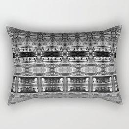 Cafe Stripe Photographic Pattern Art Print #2 Rectangular Pillow