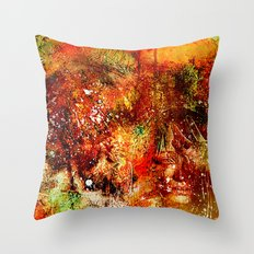 Learn to look well   (collaboration with the talented artist Timothy Davis ) Throw Pillow