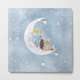 starlight wishes with you Metal Print
