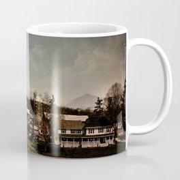 Mankind and the Mountains Coffee Mug