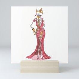 Lust - Skeleton - Seven sins Mini Art Print