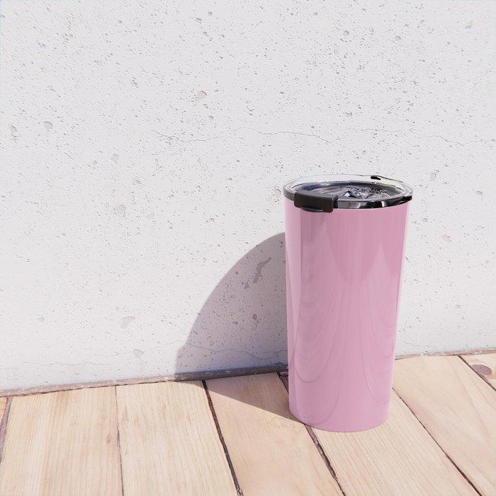 Prism Pink Solid Colour Travel Mug
