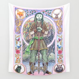 The Green Knight Wall Tapestry