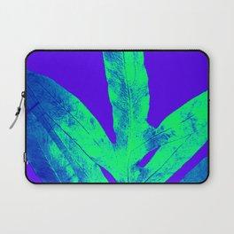 Blue Ultraviolet Green Earth Day Fern Laptop Sleeve