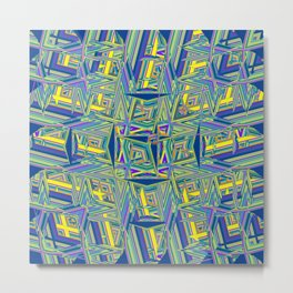 Abstract BBZ ZZZ Metal Print