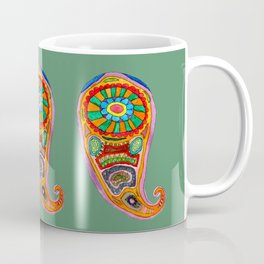 Colourful Paisley Coffee Mug