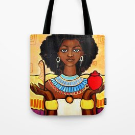 Ma'at Balance LESS RED Tote Bag