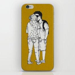 series-kiss iPhone Skin