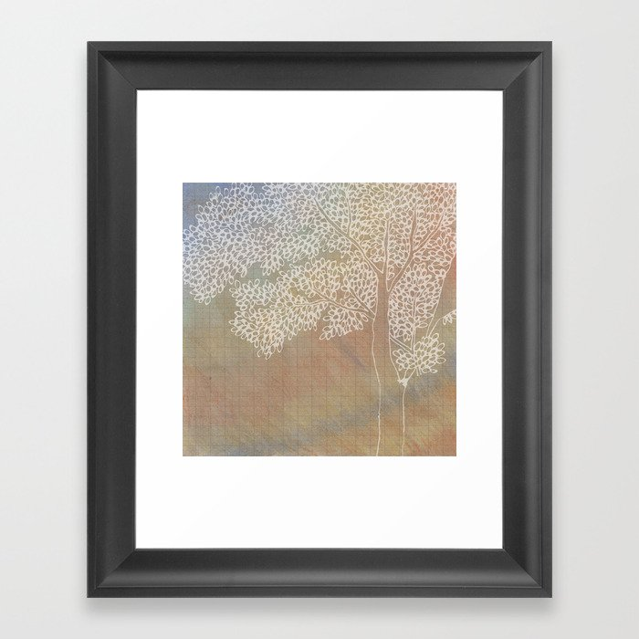 The Second Tree Framed Art Print