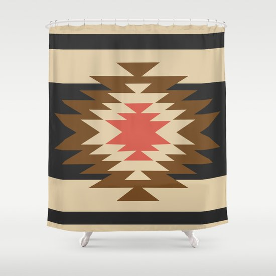 Aztec Bathroom Rug