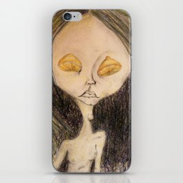 Lemon Eyed iPhone Skin
