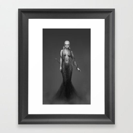 Silence broken Framed Art Print