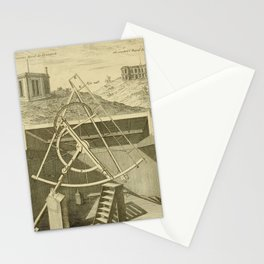 Jérôme Lalande's Astronomie (1771) - Telescope Apparatus 6 Stationery Cards