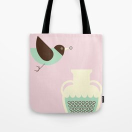 THE CROW & THE VASE Tote Bag