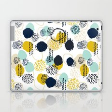 Jamm - abstract art painting brushstrokes modern minimal paint trendy colors hipster gender neutral  Laptop & iPad Skin