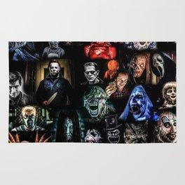Legends of Horror print Rug