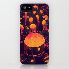 Super Heroic Pose iPhone Case