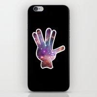 nebula iPhone & iPod Skins featuring Nebula by mailboxdisco