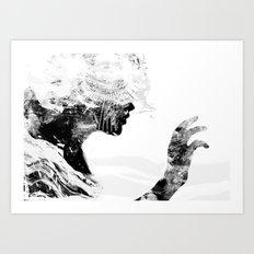 Inside Art Print
