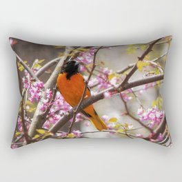 Baltimore Oriole Rectangular Pillow