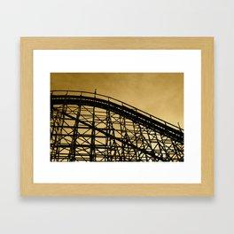 Abandoned Coaster II Framed Art Print