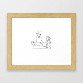 The Secret Art of Making Biscuits Framed Art Print