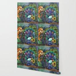 The Rose Maze Wallpaper