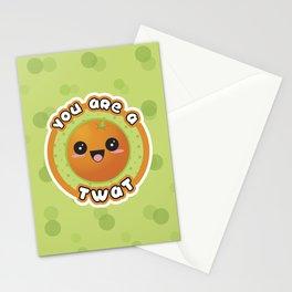 TWATGERINE Stationery Cards