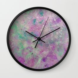 Still Waters - Original Abstract Art by Vinn Wong Wall Clock