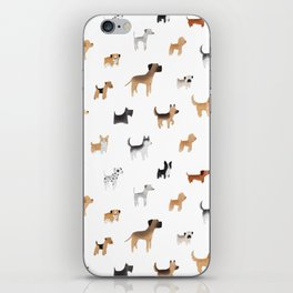 Lots of Cute Doggos iPhone Skin